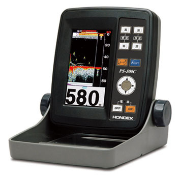 4.3型ワイドカラー液晶魚探 PS-500C