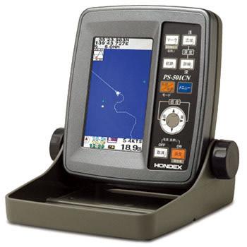 4.3型ワイドカラー液晶GPSアンテナ内蔵魚探 PS-501CNGPS内蔵魚群探知機