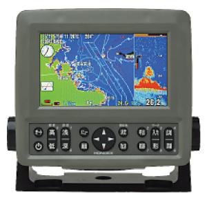5型ワイドカラー液晶GPS内蔵プロッター魚探 PS-600GPⅡ