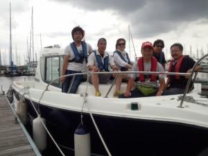 スキルアップクルージング(小型船舶免許取得後の操船練習)