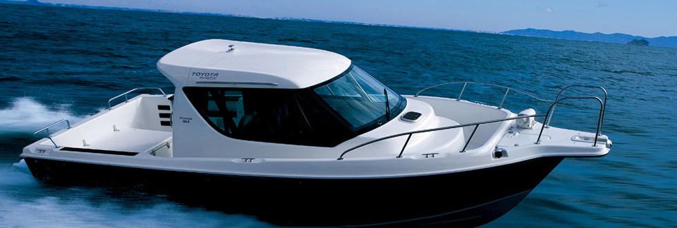 トヨタポーナム26LⅡ 小型船舶免許教習艇
