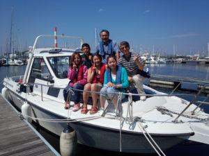 小型船舶免許取得後の操船練習