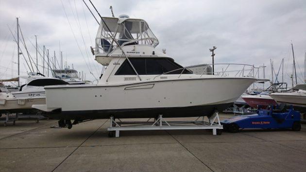 ヤマハSF-35  操縦資格:二級小型船舶免許