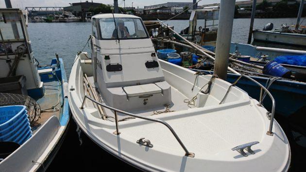 ヤマハUF-23 操縦資格:二級小型船舶免許